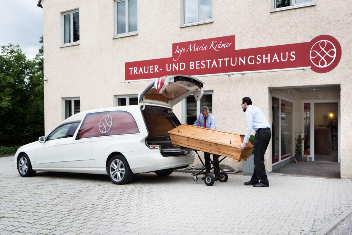 Einblicke Trauerhaus Kraamer