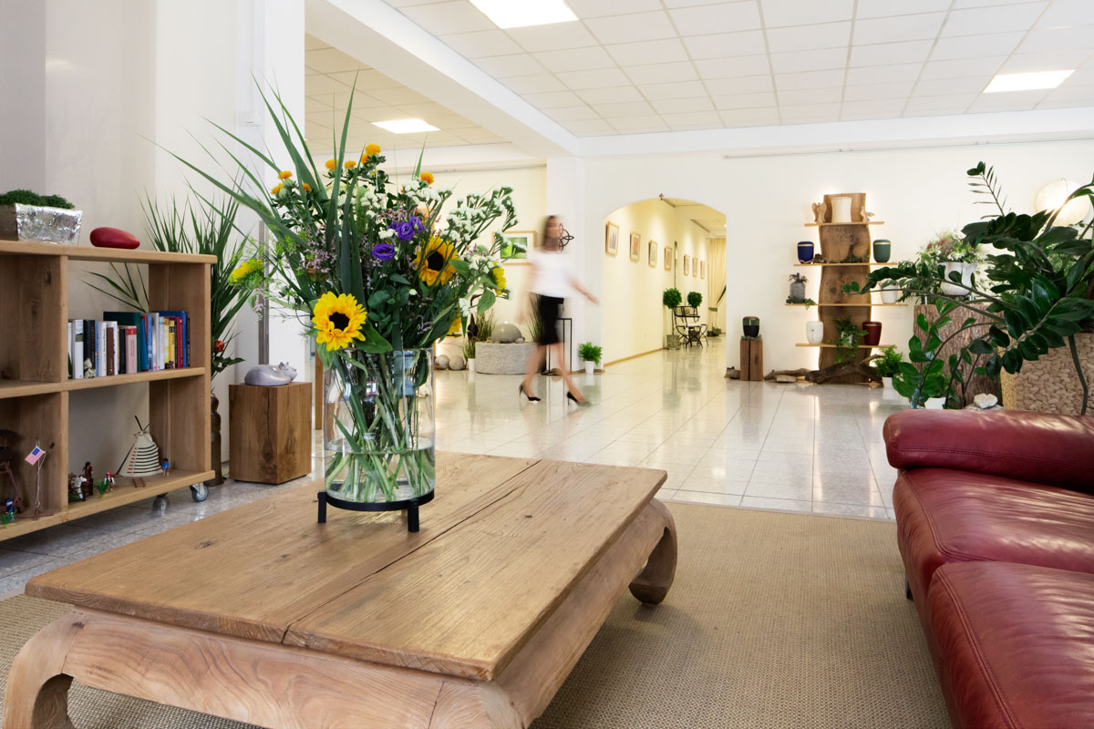 Einblicke Wartebereich Trauerhaus Krämer Landshut